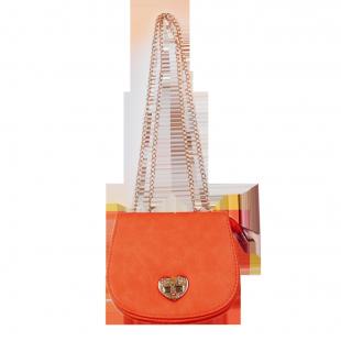 Яркая сумочка на цепочке