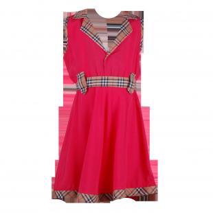 . Классическое лёгкое платье для девочки