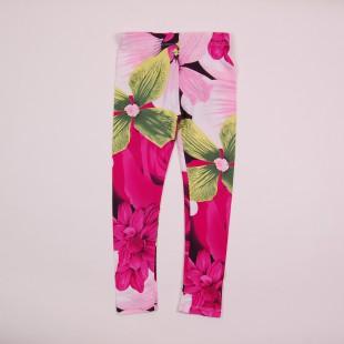 Фото: Стильные лосины для девочки  (артикул O 60051-flowers) - изображение 3