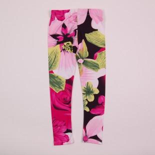 Фото: Стильные лосины для девочки  (артикул O 60051-flowers) - изображение 4