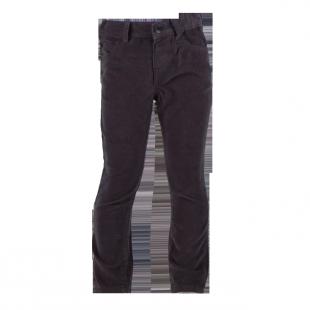 Вельветовые брюки серого цвета