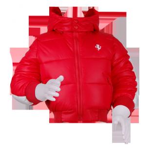 . Ferrari*. Куртка с капюшоном красного цвета