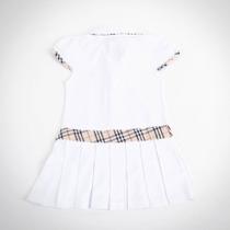 Фото: Платье с классическим кантом и бантом (артикул B 50007-white) - изображение 4