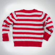 Фото: Свитер в полоску  (артикул RL 20022-red stripe) - изображение 4