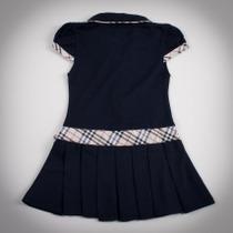 Фото: Платье с классическим кантом и бантом  (артикул B 50007-deep blue) - изображение 4