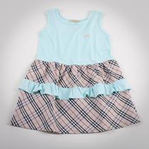 Фото: Платье с рюшами на юбке (артикул B 50041-azure) - изображение 3