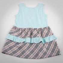 Фото: Платье с рюшами на юбке (артикул B 50041-azure) - изображение 4