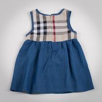 Фото: Платье с джинсовой юбкой (артикул B 50042-jeans beige) - изображение 4
