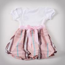 Фото: Платье с юбкой в светло-розовую клетку (артикул B 50034-light pink) - изображение 4