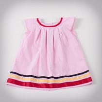 Фото: Платье с полосами на кромке (артикул B 50033-pink) - изображение 3