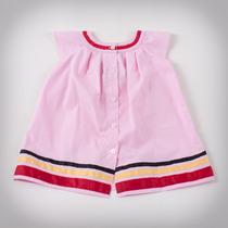 Фото: Платье с полосами на кромке (артикул B 50033-pink) - изображение 4