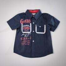 Фото: Рубашка с надписями. (артикул Gs 30011-deep blue) - изображение 3