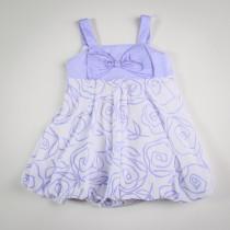 Фото: Платье с бантом на груди (артикул Gs 50023-violet) - изображение 3