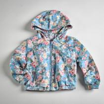 Фото: Куртка с цветочным рисунком (артикул O 10053-blue) - изображение 3