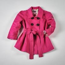 Фото: Красивый розовый плащ для девочки (артикул O 10064-pink) - изображение 3