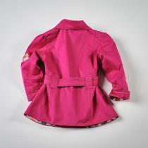 Фото: Красивый розовый плащ для девочки (артикул O 10064-pink) - изображение 4