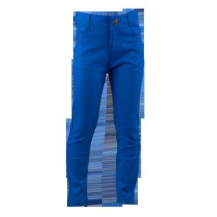 . Фирменные штаны синего цвета