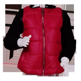 Куртка с черными рукавами