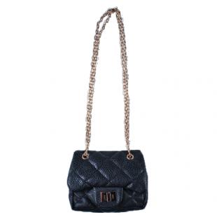 . Маленькая классическая сумочка черного цвета