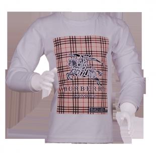 Фото: Стрейчевая кофточка с принтом (артикул B 30026-white) - изображение 2