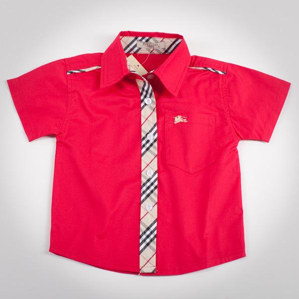 Фото: Рубашка с классическим кантом (артикул B 30021-red)