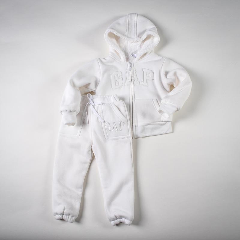 Фото: Белоснежный спортивный костюм (артикул Gp 70006-white)