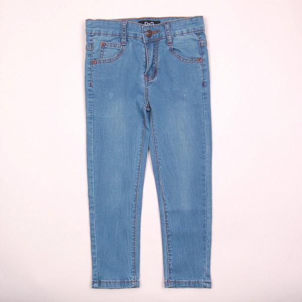 Фото: Лёгкие джинсы с потёртостями  (артикул O 60050-jeans)