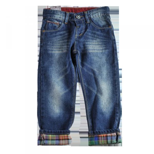 Фото: Джинсы с разноцветной подкладкой (артикул Z 60110-jeans)