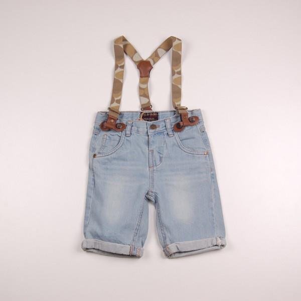 Фото: Soul & Glory. Джинсовые шорты для маленьких мальчиков (артикул O 60082-jeans)