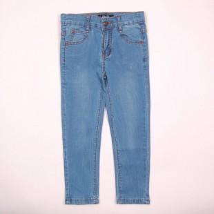 Фото: Лёгкие джинсы с потёртостями  (артикул O 60050-jeans) - изображение 3