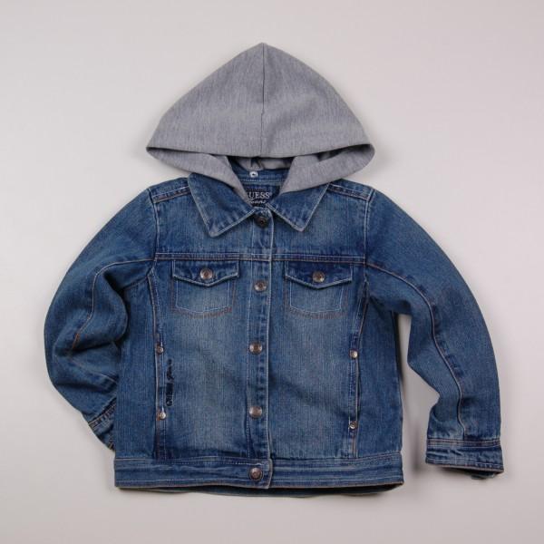 Фото: Куртка джинсовая с капюшоном (артикул Gs 10003-jeans)