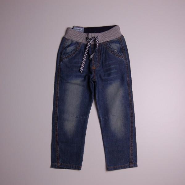 Фото: Стильные детские джинсы на резинке (артикул Z 60167-jeans)