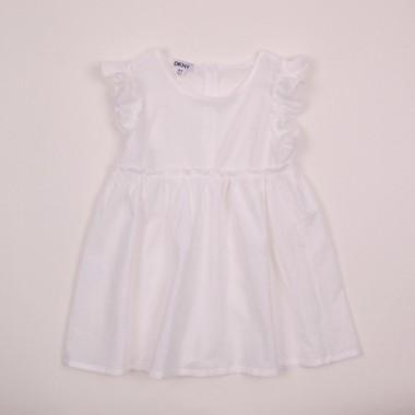 Фото: Платье с пуговицами на спине (артикул O 50198-white)