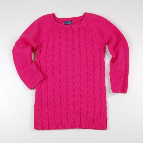 Фото: Minoti. Платье вязаное розового цвета (артикул O 50289-pink)