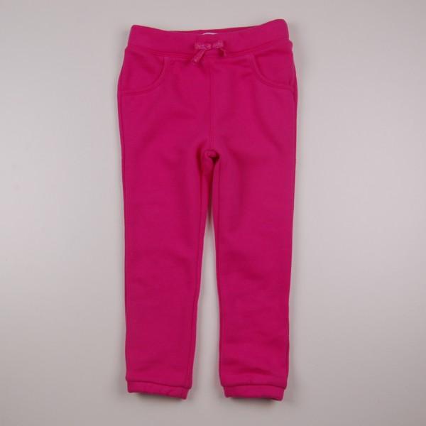 Фото: Детские спортивные штаны розового цвета для девочки  (артикул O 60110-pink)