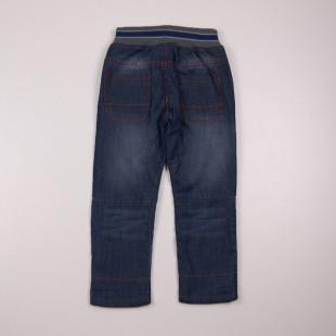Фото: Джинсы на резинке с подворотами для мальчика (артикул Z 60179-jeans) - изображение 4