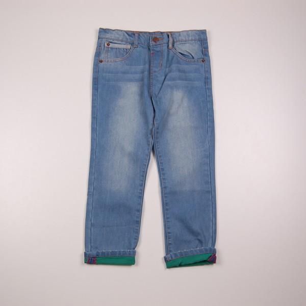 Фото: Джинсы с цветной подкладкой (артикул Z 60133-jeans)