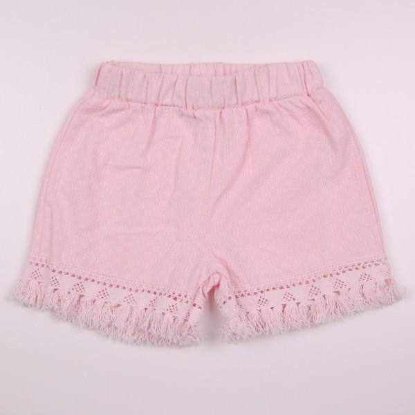Фото: Детские шорты с бахромой (артикул Z 60262-light pink)