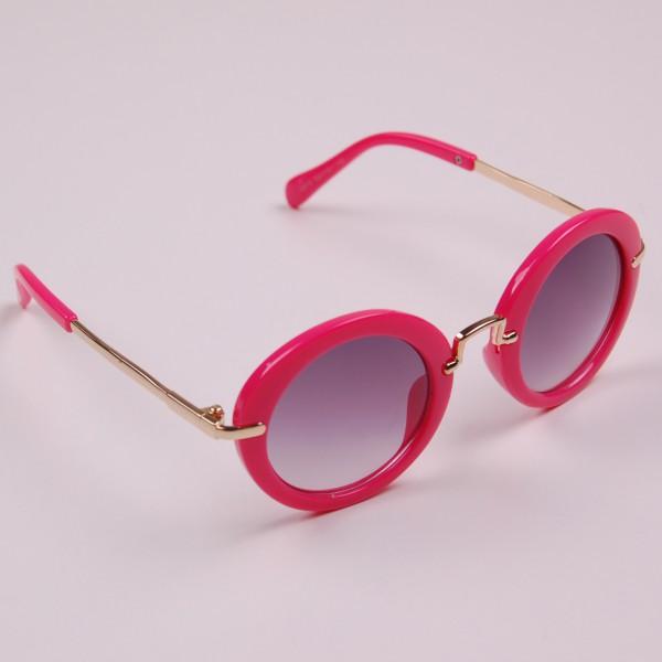 Детские очки с круглой оправой