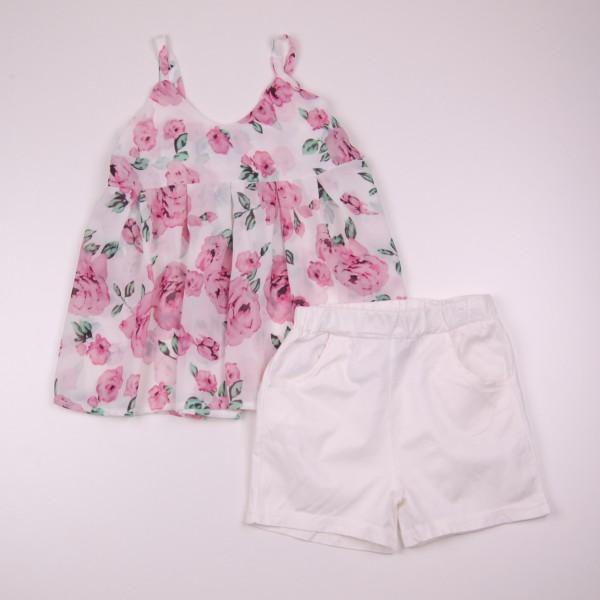 Фото: Нарядный костюм для девочки (артикул Z 50187-light pink)