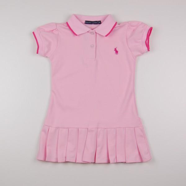 Фото: Платье Polo с плиссированной  юбкой (артикул RL 50002-light pink)