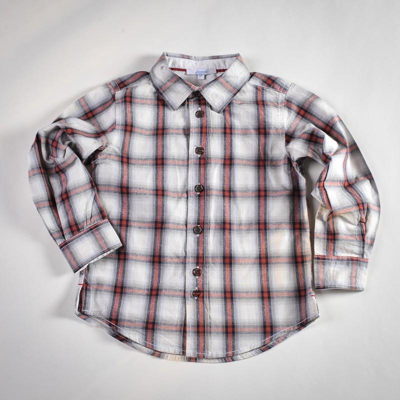 Фото: Рубашка в серую клетку (артикул O 30070-square)