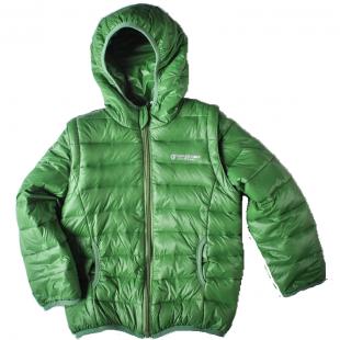 Куртка с рукавами  на молнии