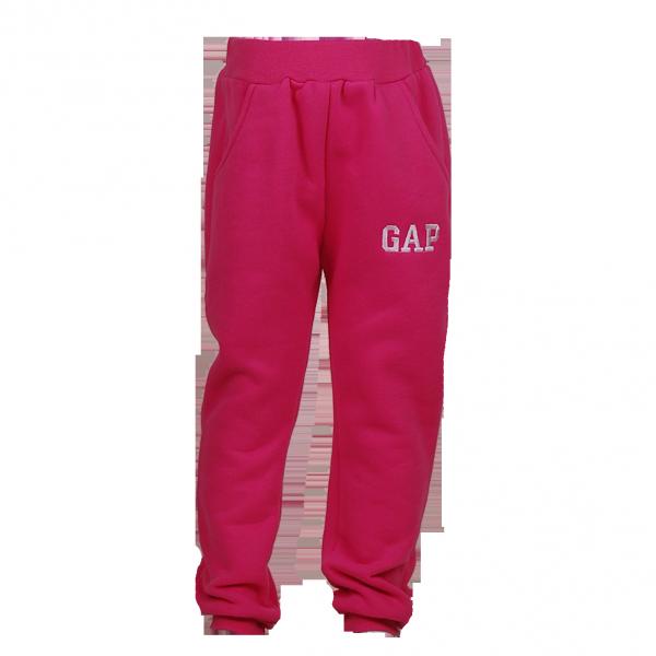 Фото: Фирменные спортивные штаны для девочки (артикул Gp 60013-pink)