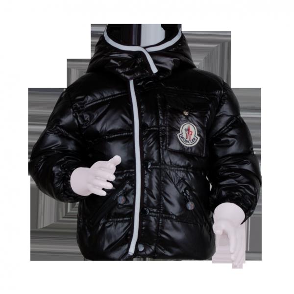 Фото: Зимняя куртка для мальчика (артикул O 10176-black)