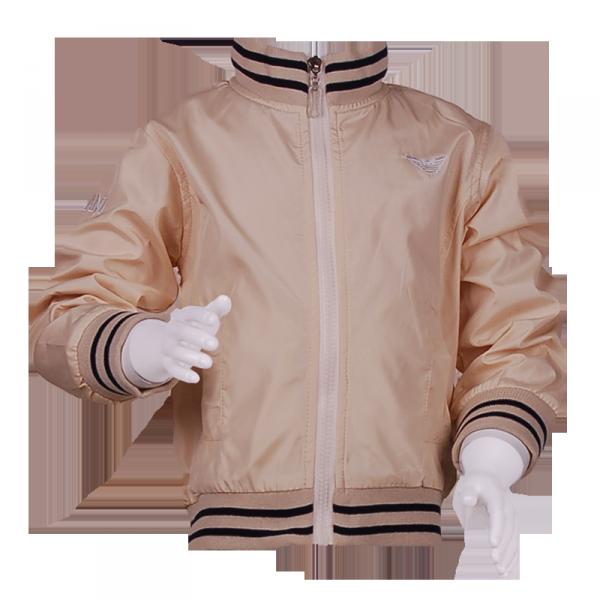 Фото: Куртка на молнии (артикул O 10061-milk)
