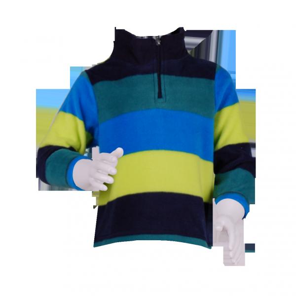 Фото: Разноцветная толстовка для мальчика (артикул O 20125-stripes)