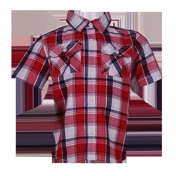 Фото: Gymboree. Рубашка в клетку (артикул O 30081-red)