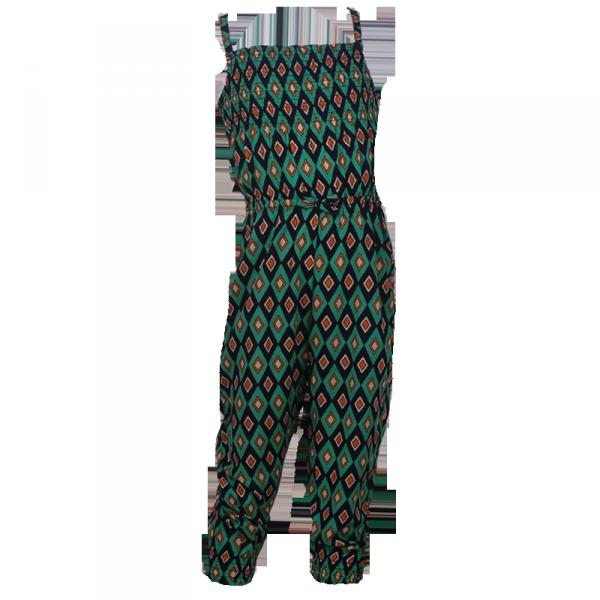 Фото: Комбинезон с разноцветным орнаментом (артикул O 50211-different)