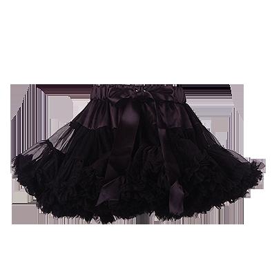 Юбка черного цвета